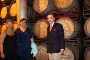 Carmen Olmedo - visita Virgen de las Viñas