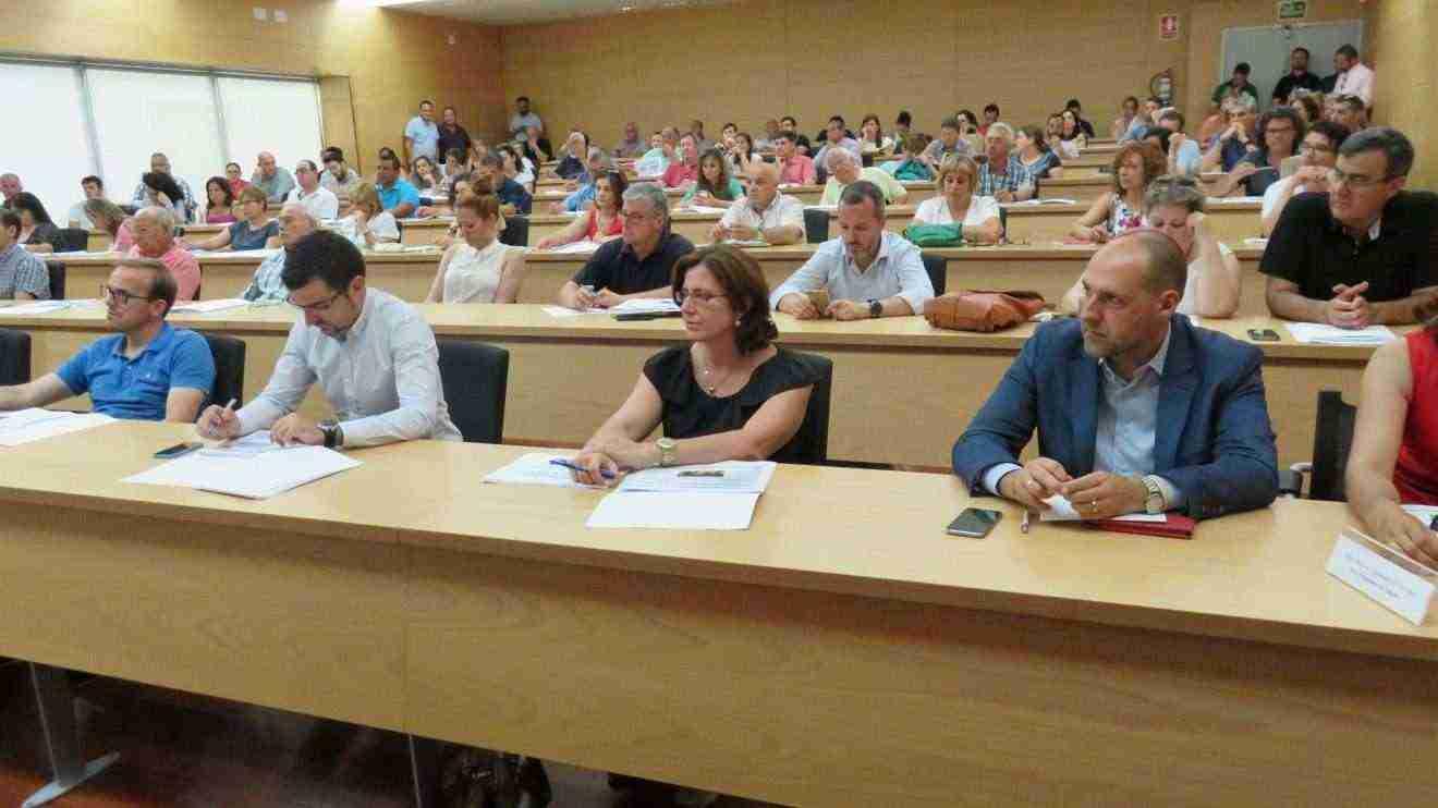 Casi un centenar de representantes de ayuntamientos de Toledo conocen en profundidad el Programa Garantía +55