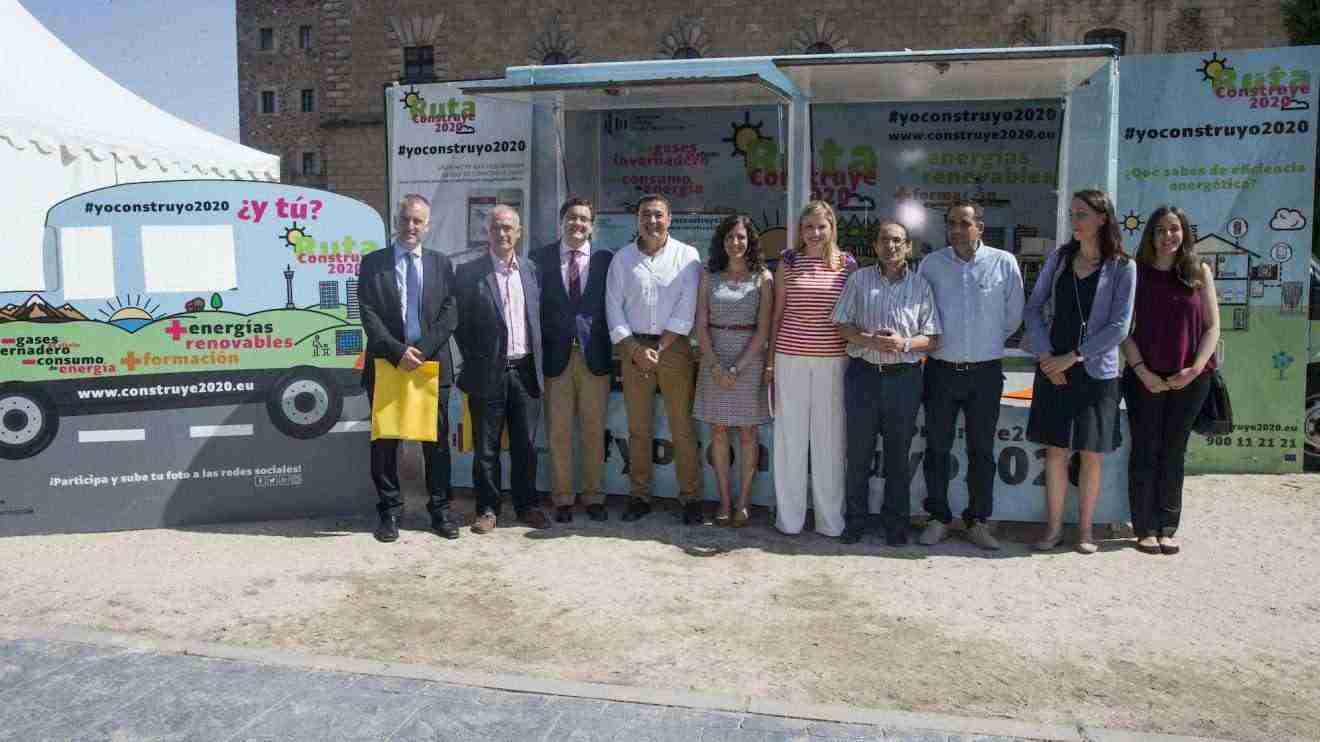 """La consejera de Fomento, Elena de la Cruz, ha asistido al acto de clausura de la """"Ruta Construye 2020"""""""