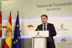 Nacho Hernando en comparecencia para hacer balance gobierno