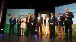 Premios Solidarios ONCE Castilla-La mancha, foto familia