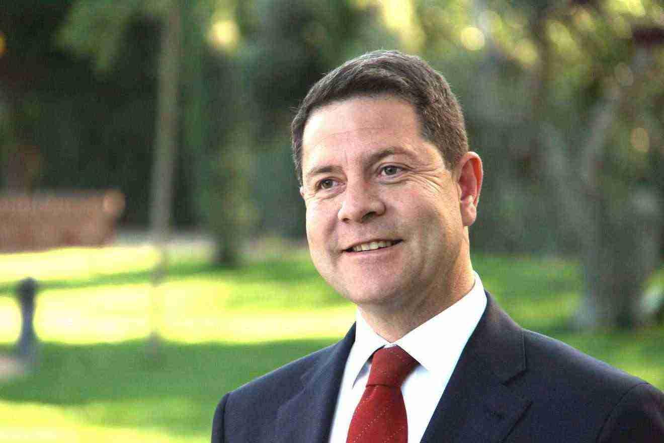 Presidente de Castilla-La Mancha Emiliano García-Page