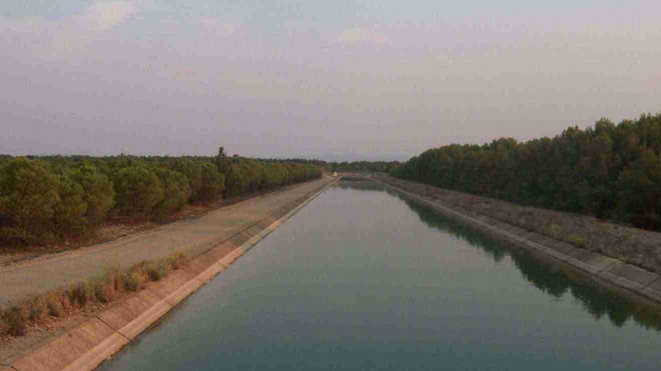 Trasvase Tajo-Segura por Albacete. Foto Wikipedia