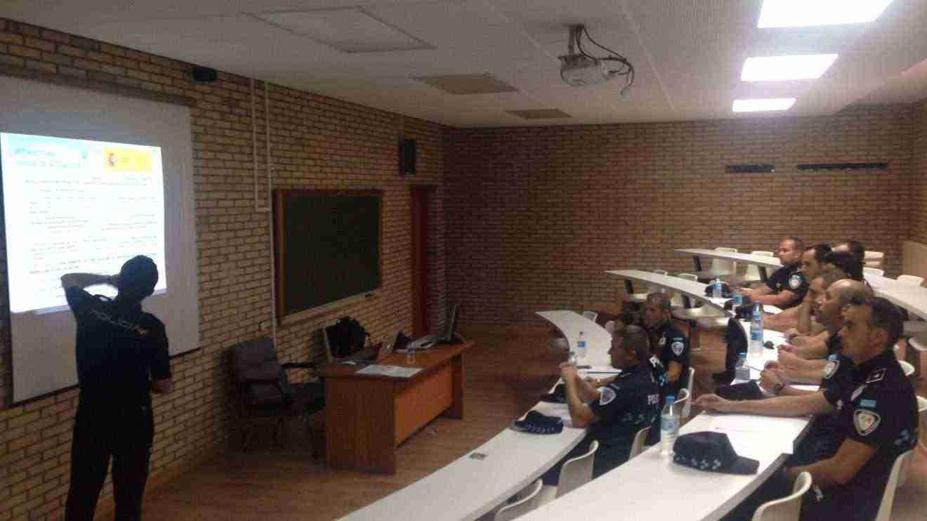 Visita a la Escuela Nacional de Policía de Ávila