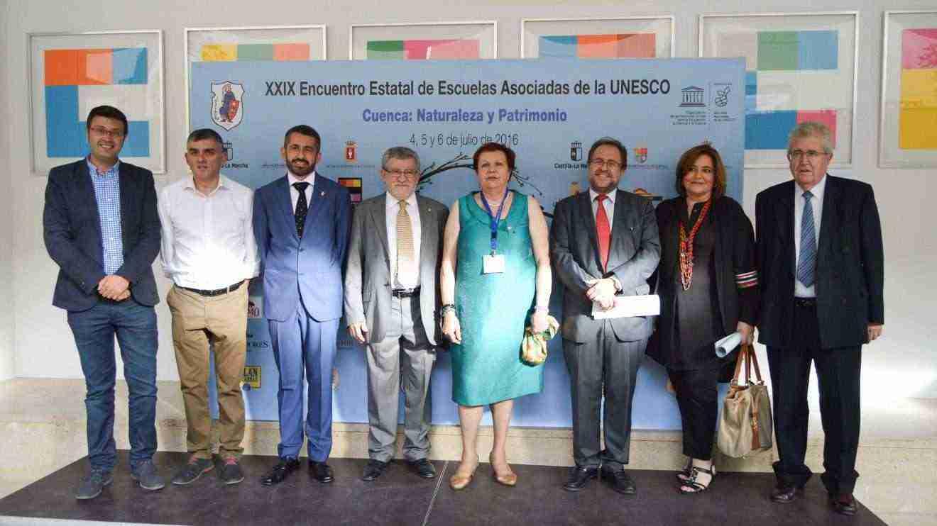 Inauguración del XXIX Encuentro Estatal de Escuelas Asociadas de la UNESCO en Cuenca