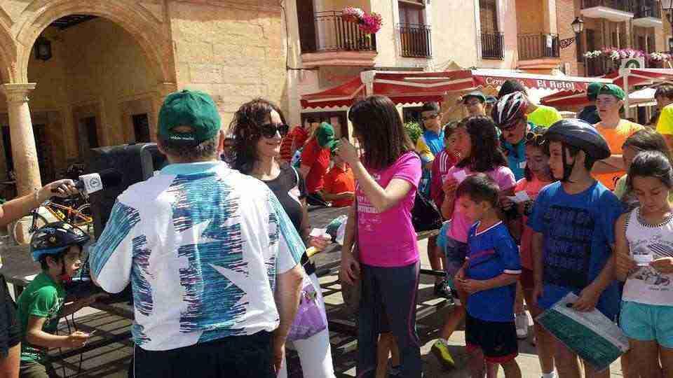 concejalas Cristina Torres y Rosario Herrera durante la celebración de esta jornada