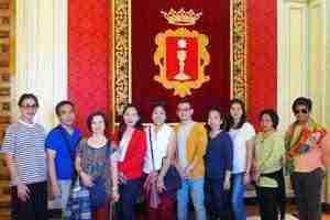 Delegación filipina visita Cuenca