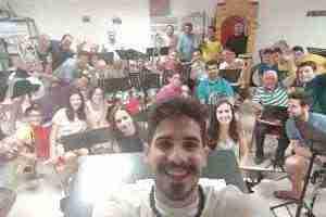 Despedida de Elias Escribano y la Banda de Música de Herencia