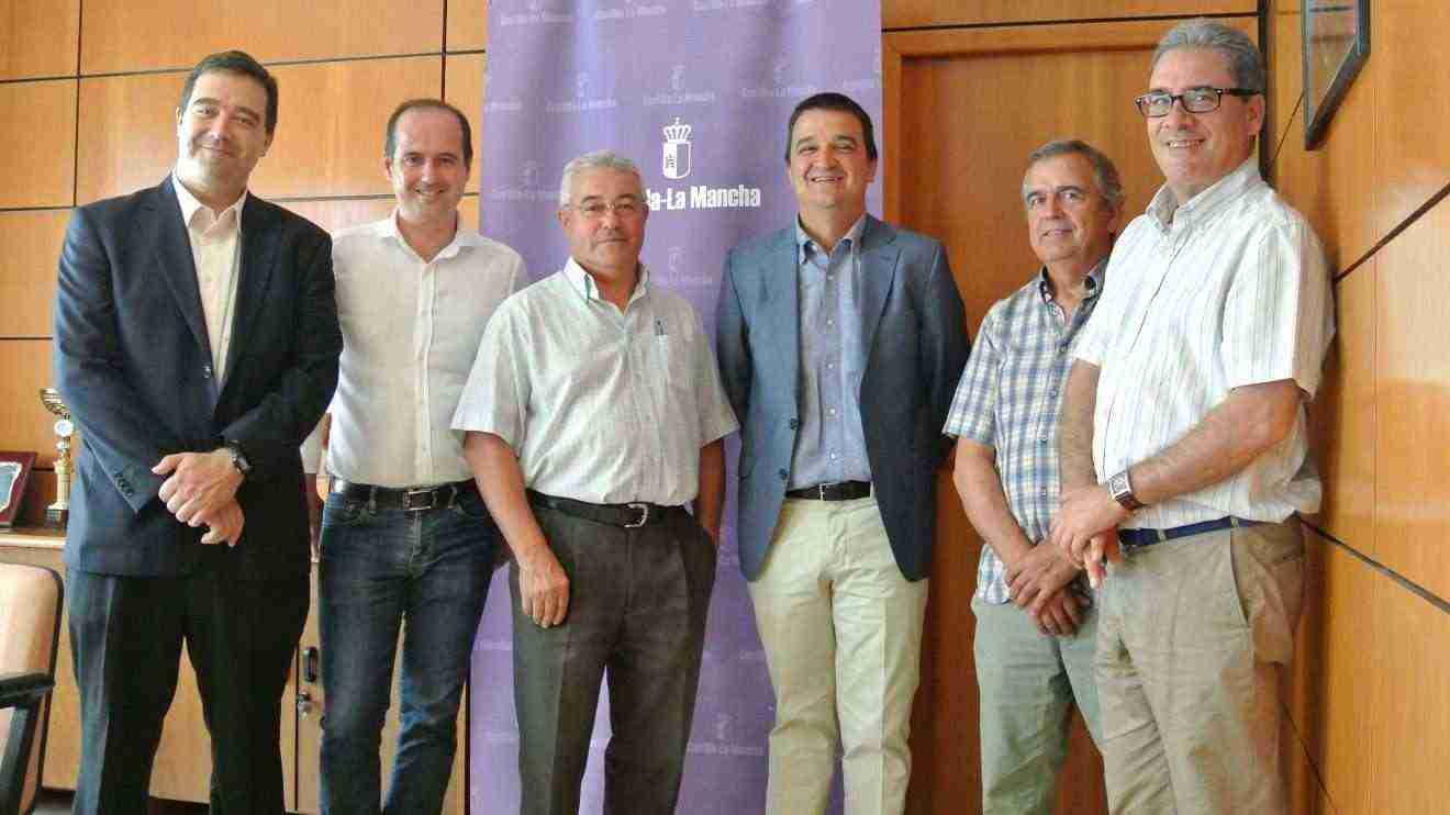 representantes de UPA y COAG de Castilla-La Mancha