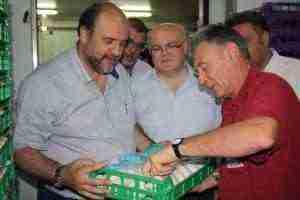 Visita al municipio de Villalgordo del Júcar y a la empresa Mercajucar