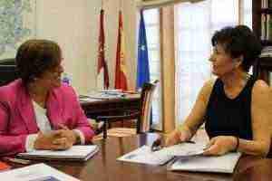 Carmen Olmedo con Arsenia Tenorio 1