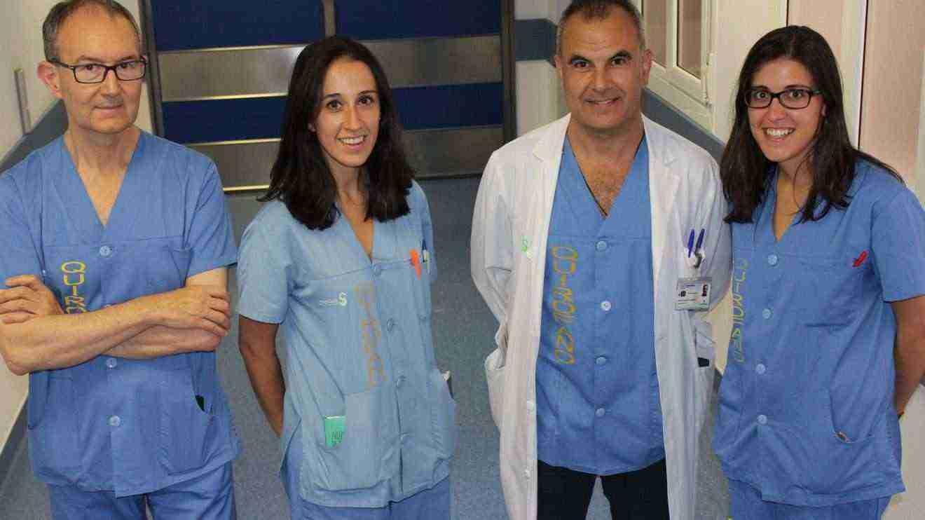 Cirujanos del Complejo Hospitalario de Toledo galardonados recientemente en el Congreso de la especialidad celebrado en Cáceres.