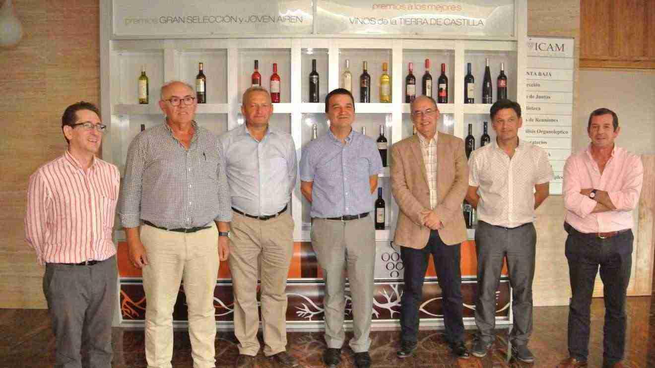Reunión del Patronato de la Fundación Tierra de Viñedos en Tomelloso