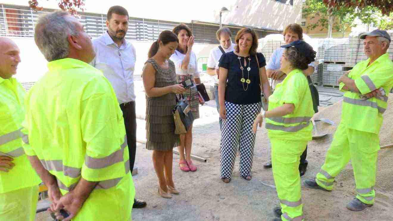 Visita Plan Empleo Colegio Ferroviario