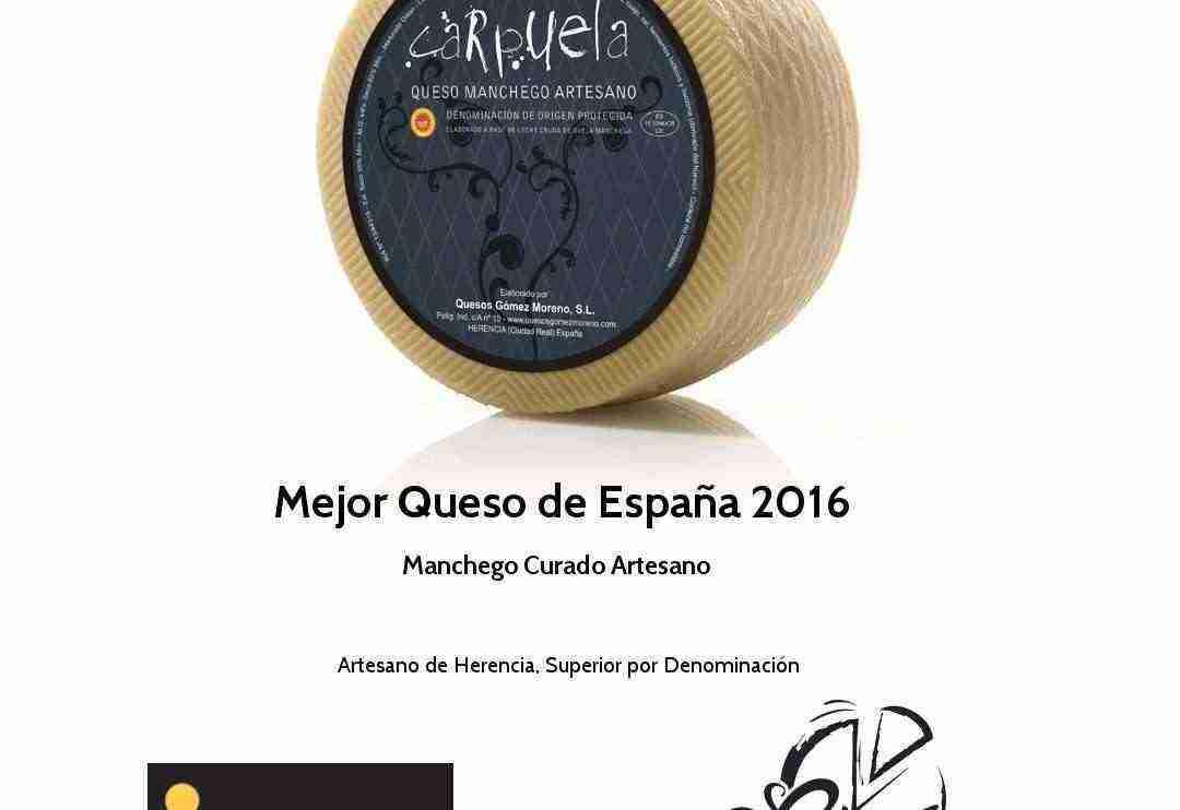 El mejor queso del mundo está en Herencia (Ciudad Real)