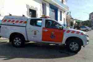 Vehículo de Protección Civil de Herencia donado por Grupo Tecnove.