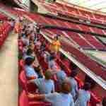 V Campus de Futbol visitaron el Wanda Metropolitano 11 150x150 - Los participantes en el V Campus de Fútbol visitaron el Wanda Metropolitano