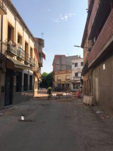 obras avenida y plaza cervantes en herencia fotos dcarrero herencia net 8 225x300 - La nueva Plaza Cervantes de Herencia pronto finalizará sus obras