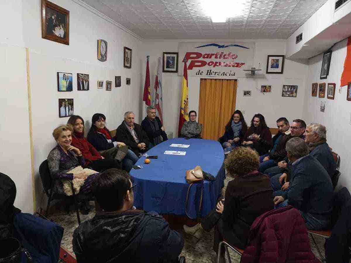 Diputada Nacional Carmen Quintanilla visitó Herencia