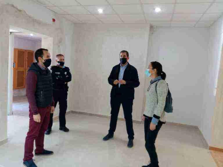 Policía local de Herencia contará con una nueva sede a principios de año 5