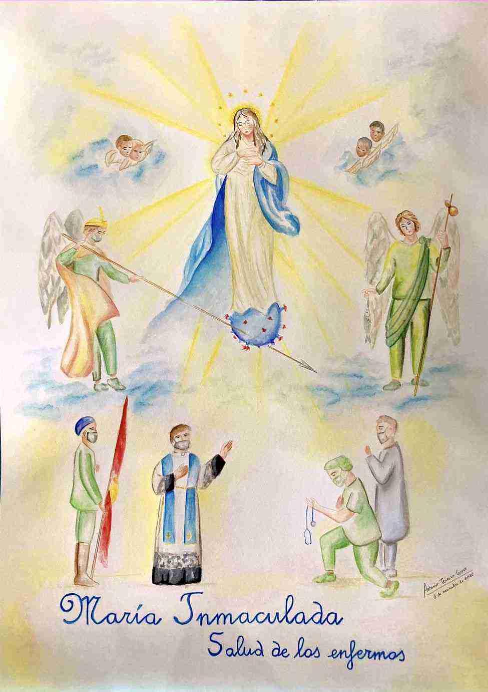 Presentado el cartel y actos en honor a la Inmaculada Concepción 5