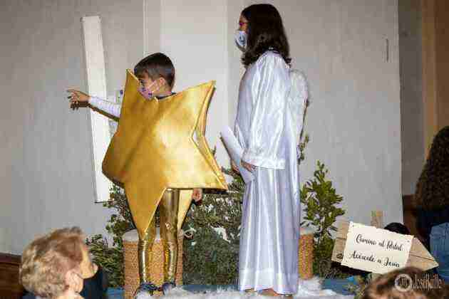 Galería fotográfica del belén viviente y misa de vigilia de Navidad 89