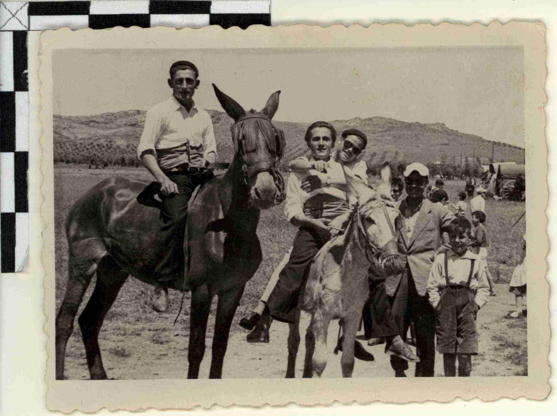 Nuevas fotografías antiguas de Herencia: Feria y la Romería 72