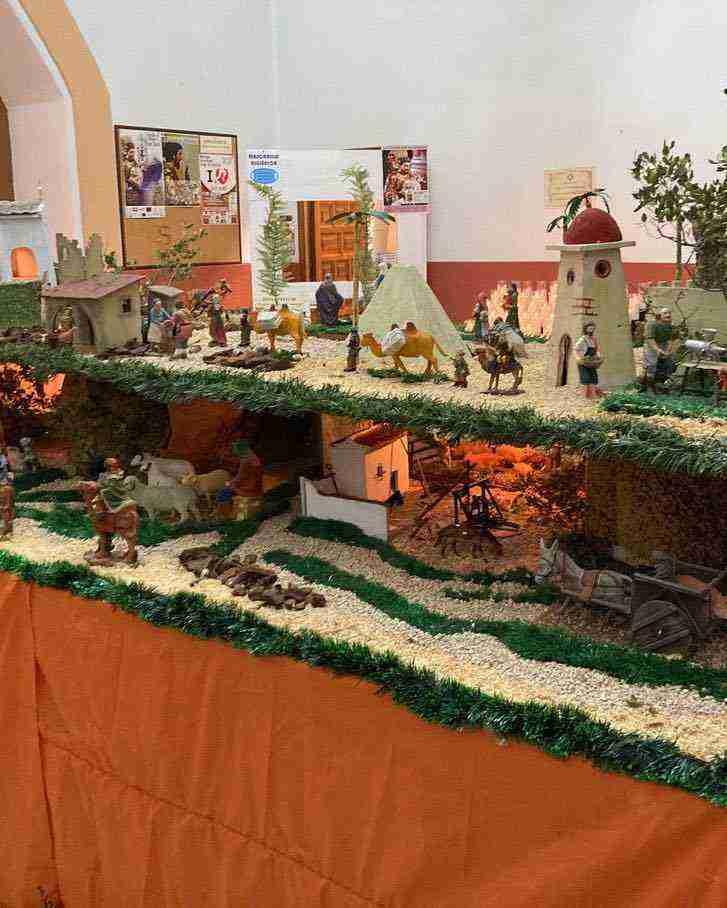 Muestra virtual de belenes de Navidad en Herencia 11