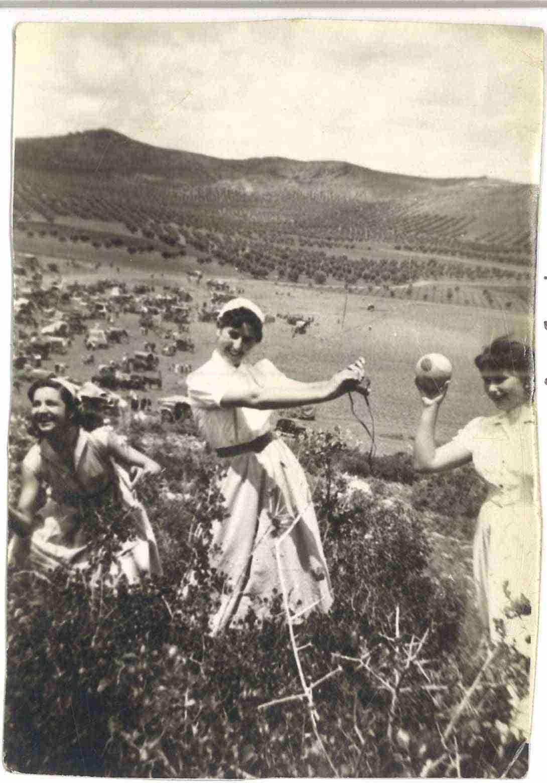 Nuevas fotografías antiguas de Herencia: Feria y la Romería 70