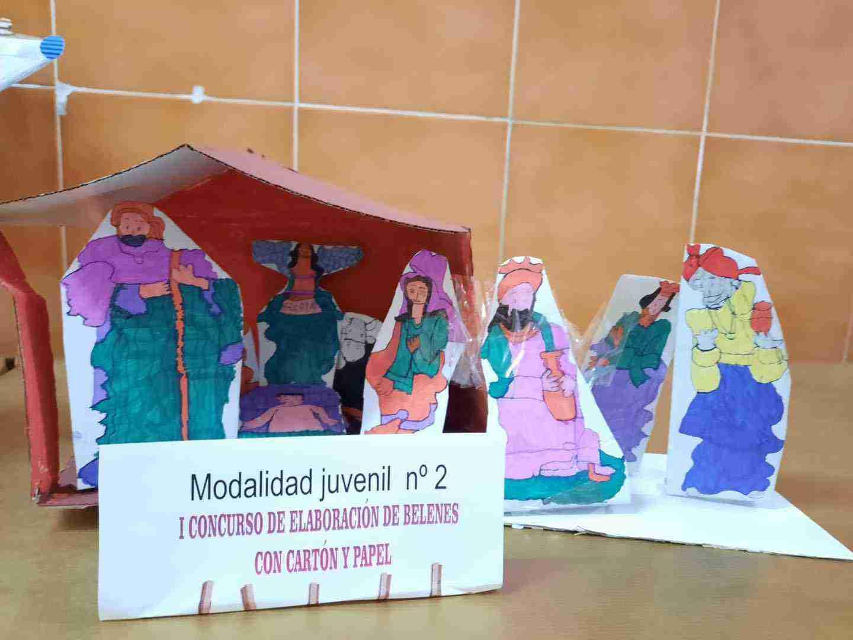 Celebrado el I Concurso de Belenes realizado con cartón y papel 35