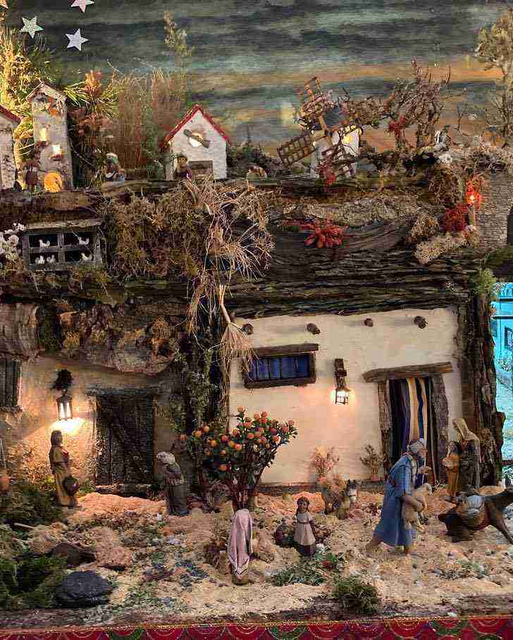 Muestra virtual de belenes de Navidad en Herencia 13