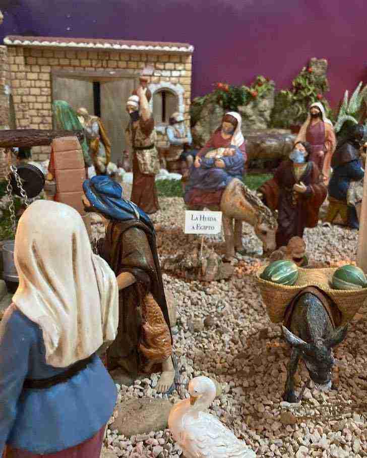 Muestra virtual de belenes de Navidad en Herencia 18