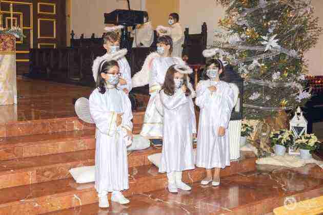 Galería fotográfica del belén viviente y misa de vigilia de Navidad 62