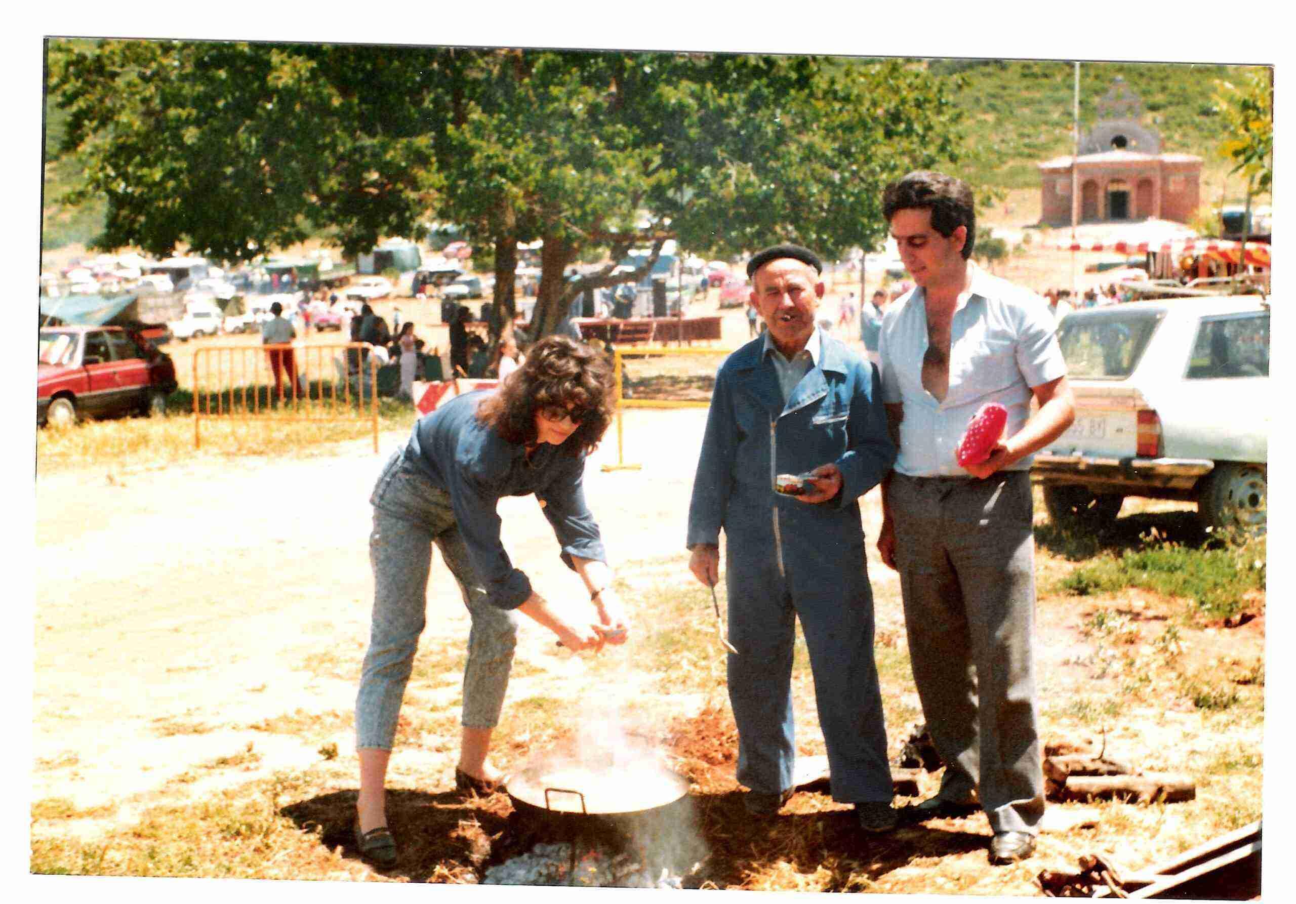 Nuevas fotografías antiguas de Herencia: Feria y la Romería 55
