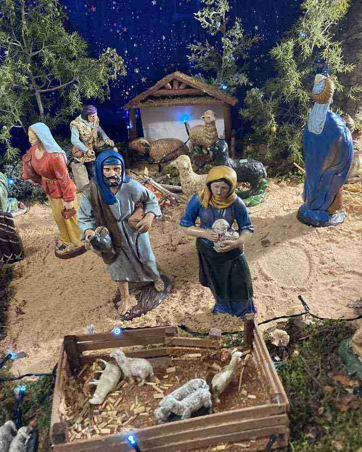 Muestra virtual de belenes de Navidad en Herencia 14