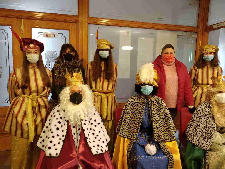 Los Reyes Magos también visitarón el Colegio de Nuestra Señora de las Mercedes 5
