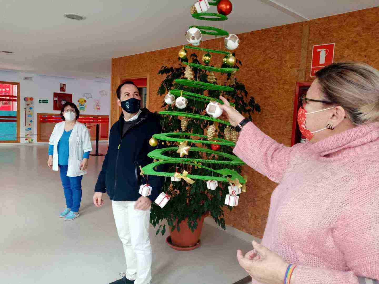 Visita a la Escuela Infantil de Herencia para conocer como llegará la Navidad 8