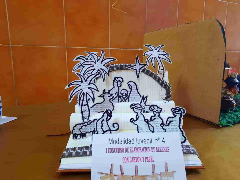 Celebrado el I Concurso de Belenes realizado con cartón y papel 29
