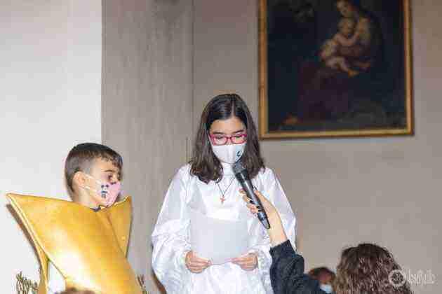 Galería fotográfica del belén viviente y misa de vigilia de Navidad 51