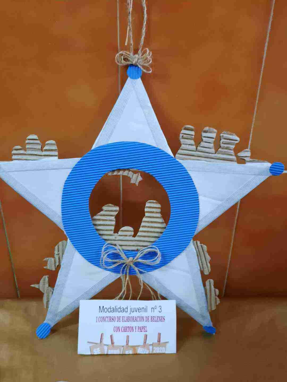 Celebrado el I Concurso de Belenes realizado con cartón y papel 34