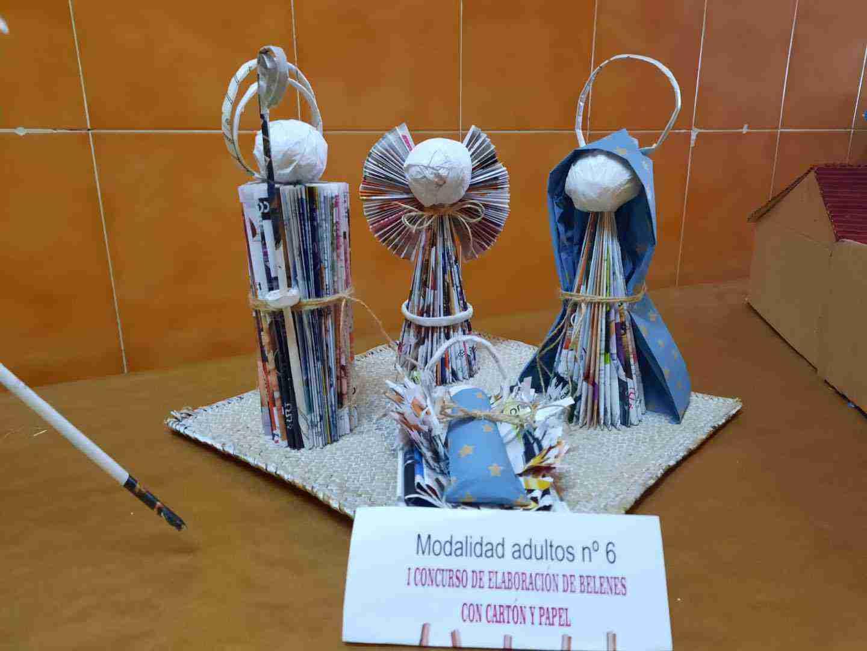Celebrado el I Concurso de Belenes realizado con cartón y papel 21