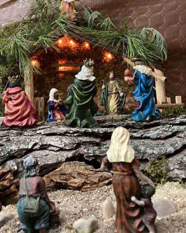 Muestra virtual de belenes de Navidad en Herencia 17