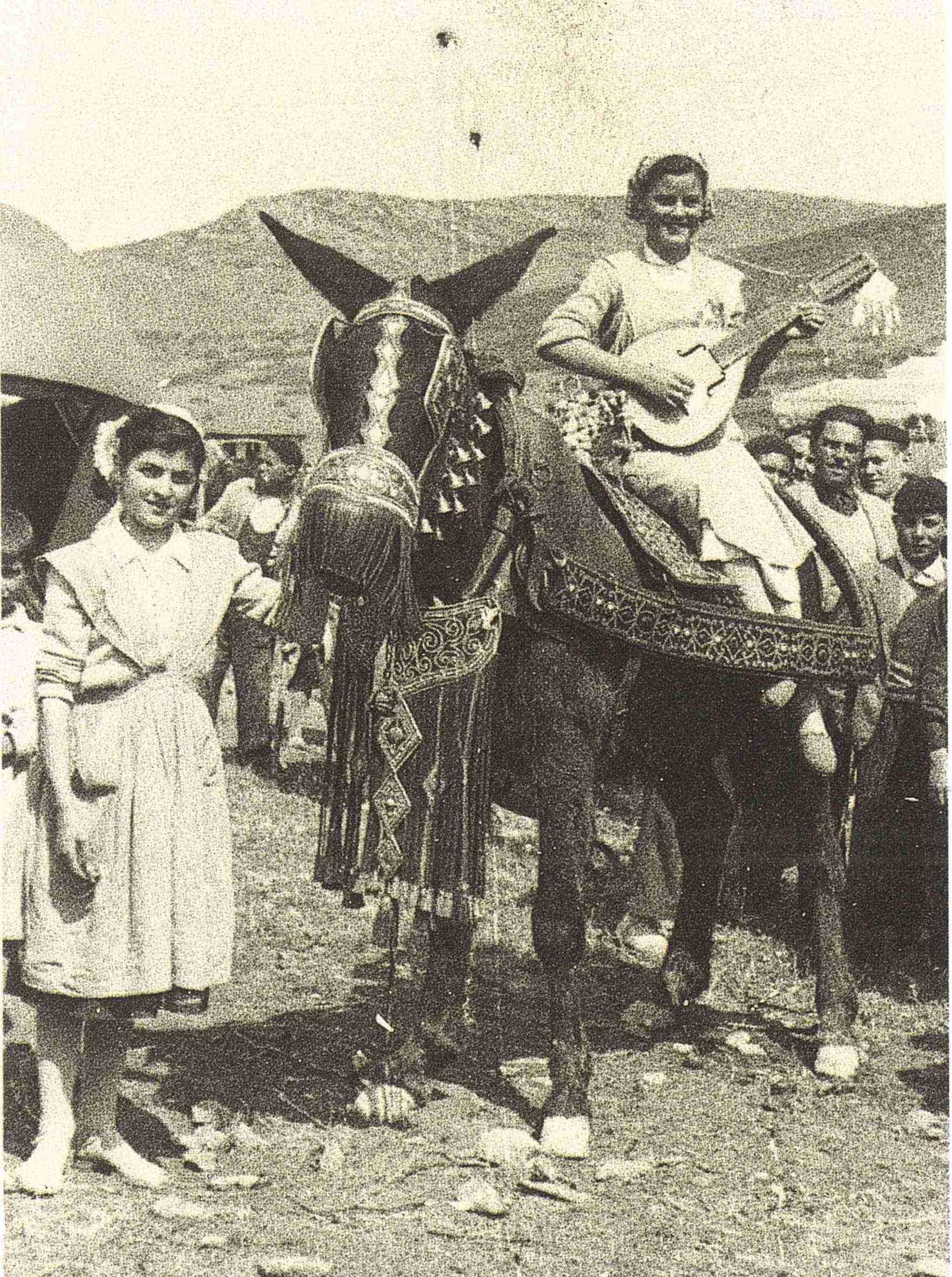 Nuevas fotografías antiguas de Herencia: Feria y la Romería 48