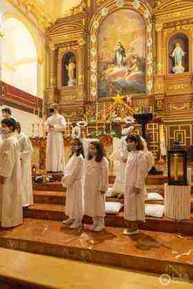 Galería fotográfica del belén viviente y misa de vigilia de Navidad 14