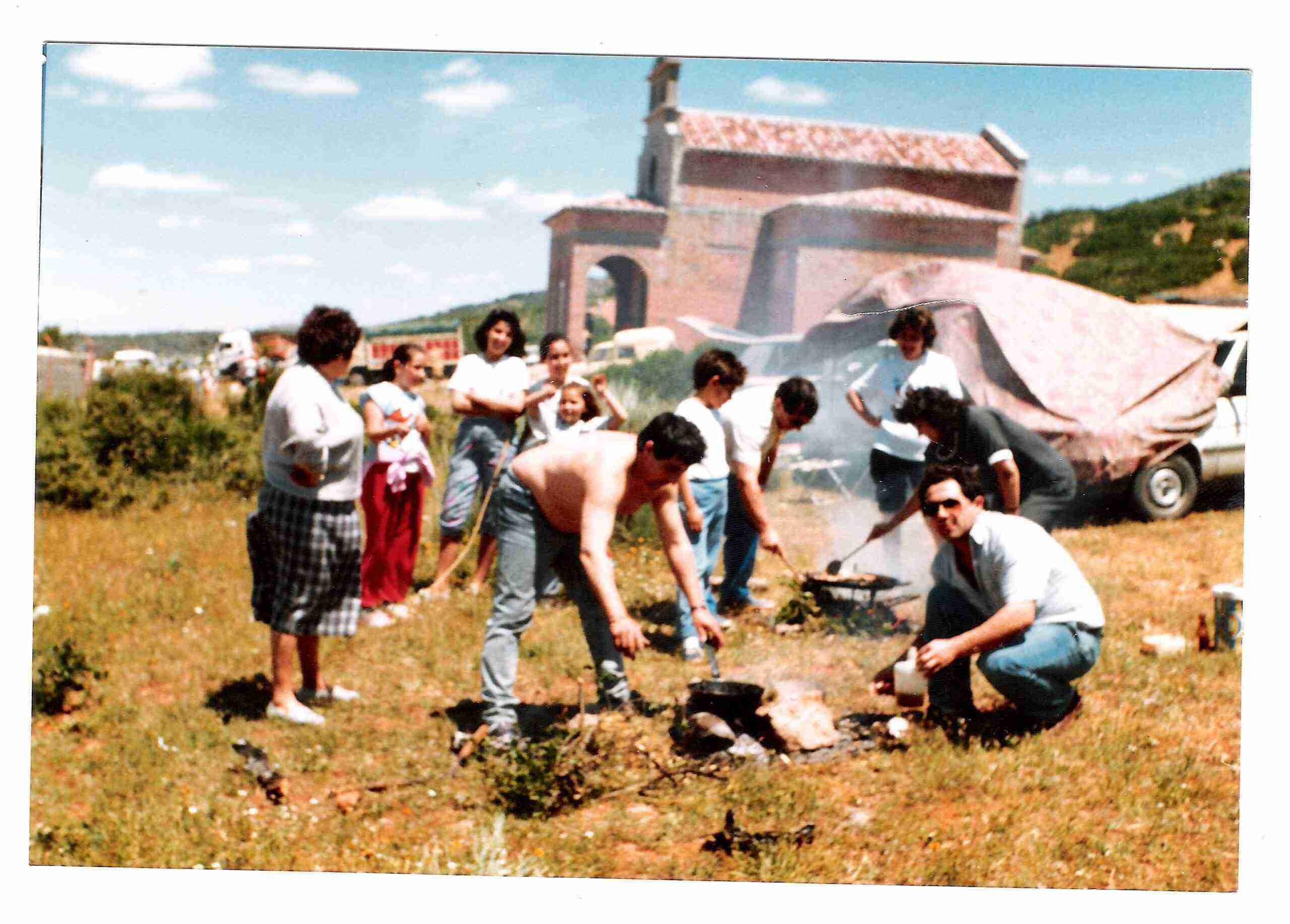 Nuevas fotografías antiguas de Herencia: Feria y la Romería 74
