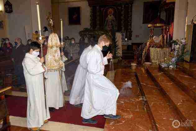 Galería fotográfica del belén viviente y misa de vigilia de Navidad 87