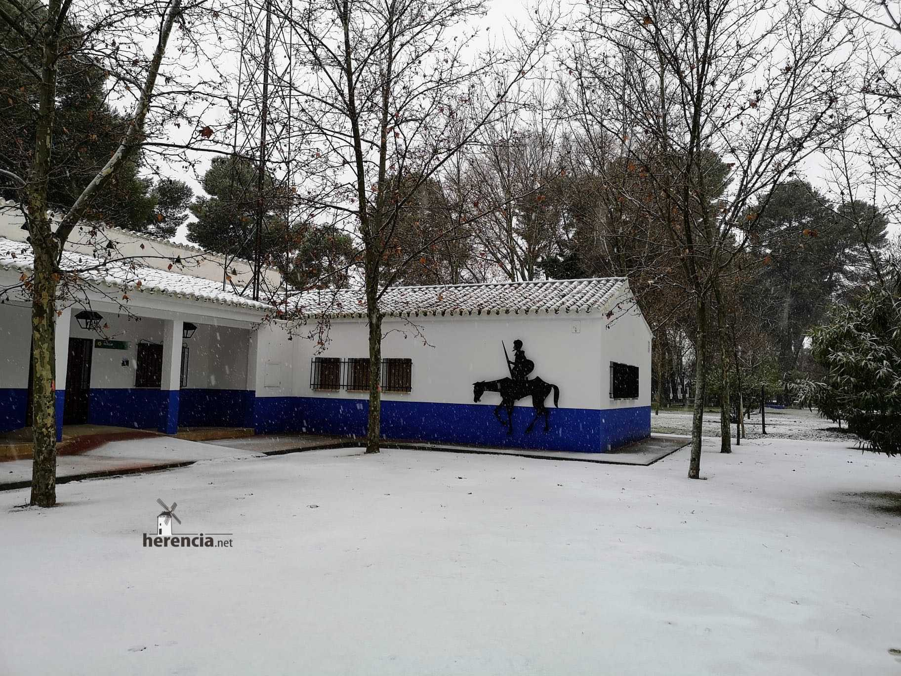 Las nevadas llegan Herencia y a toda Castilla-La Mancha 32
