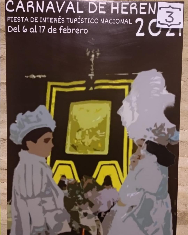 Conoce los 4 carteles del concurso para el Carnaval de Herencia 2021 7