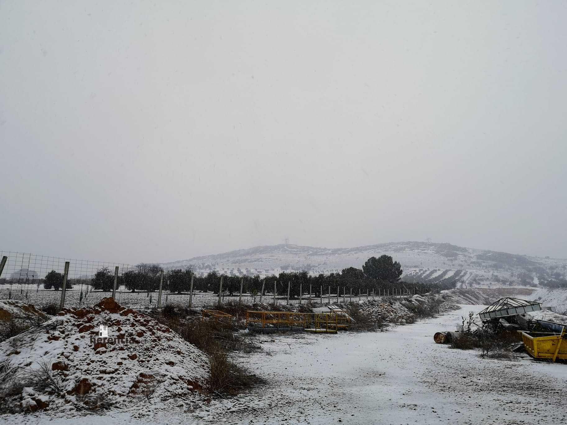 Las nevadas llegan Herencia y a toda Castilla-La Mancha 23