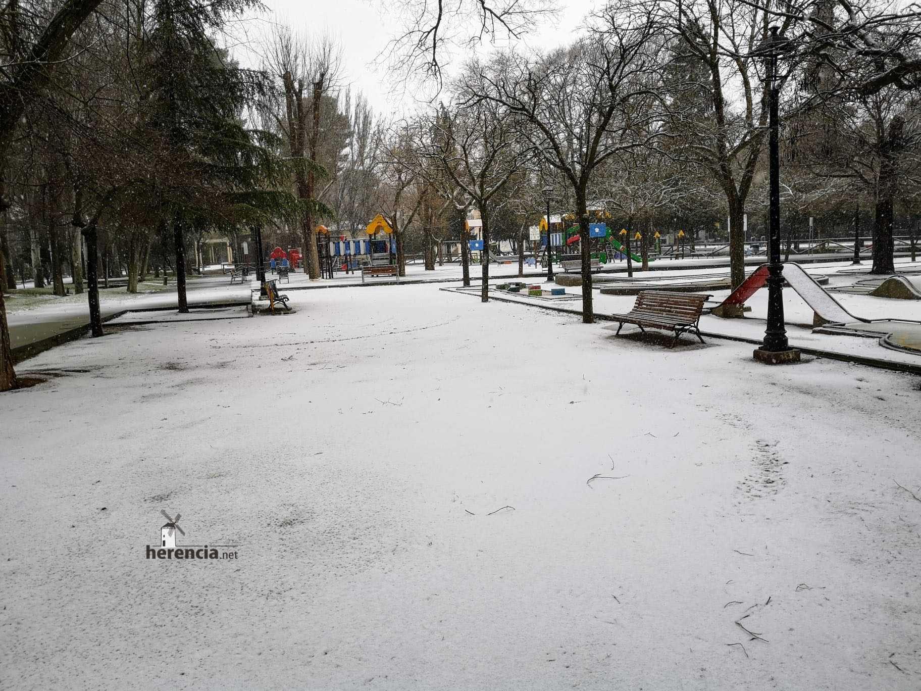 Las nevadas llegan Herencia y a toda Castilla-La Mancha 27